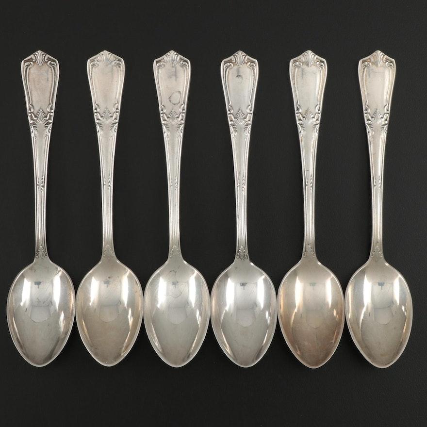 Soviet Russian 875 Silver Teaspoons, 1958-1985