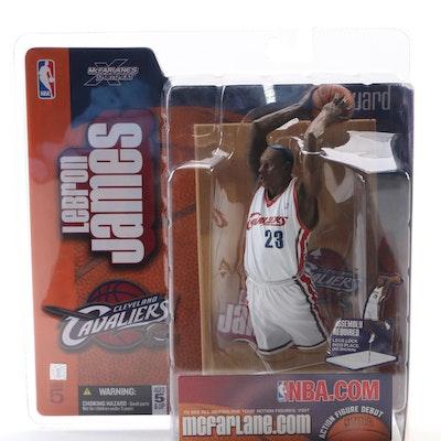 2003 LeBron James Cleveland Cavaliers McFarlane Action Figure Series 5