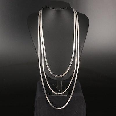 Herringbone Chain Assortment