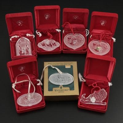 Waterford Crystal Ornaments Including Songs of Christmas Collection, 1997–2001