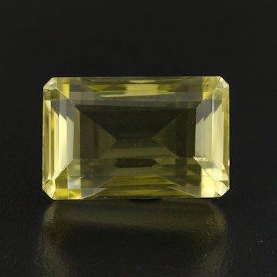 Loose 25.74 CT Citrine