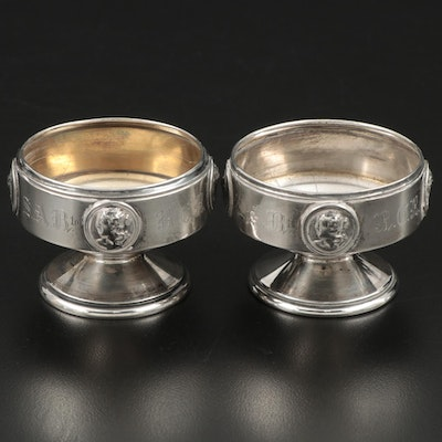 Gorham Sterling Silver Waste Bowls, Mid to Late 19th Century