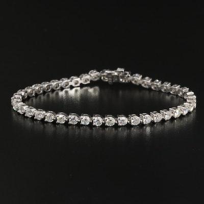 14K 5.02 CTW Diamond Line Bracelet