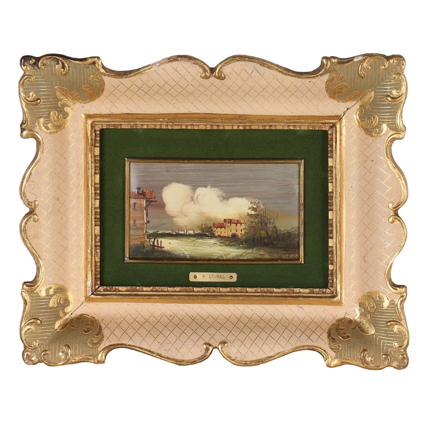 Landscape Oil Painting, Late 19th to Early 20th Century