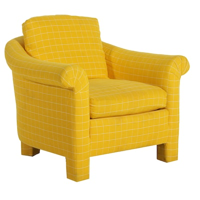 Baker Furniture Custom Upholstered Armchair, Late 20th/Early 21st Century
