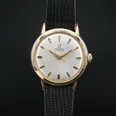 1968 Omega Ref. LU6304 10K Gold Filled Automatic Wristwatch
