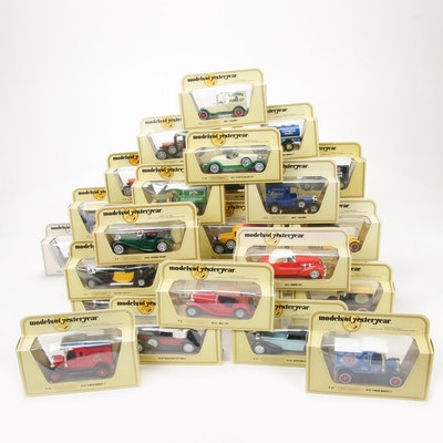 "Lesney Matchbox ""Models of Yesteryear"" 35:1 Scale Diecast Antique Classic Cars"