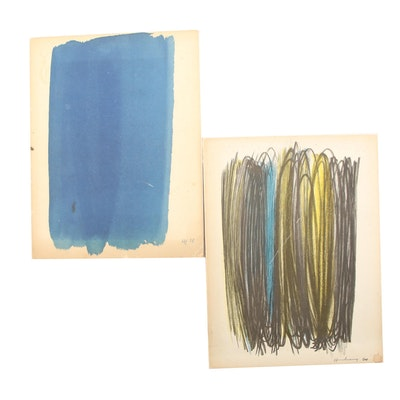 "Limited Editions ""Hans Hartung"" and ""Hans Hartung Œuvres de 1920 à 1939"""