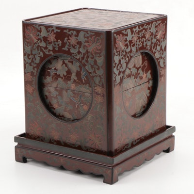 Japanese Lacquered Stacking Boxes