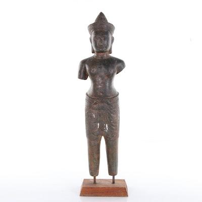 Cast Metal Indonesian Deity, 20th Century