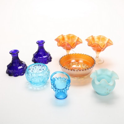 Fenton, Westmoreland and Other Glassware, Vintage