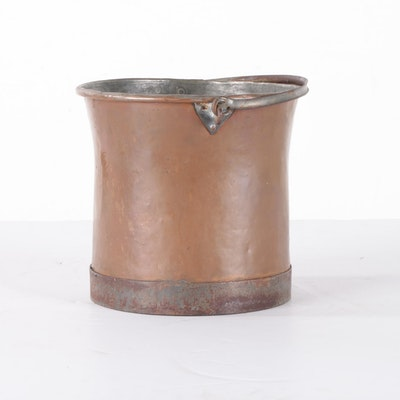 Copper Handled Pail, 20th Century