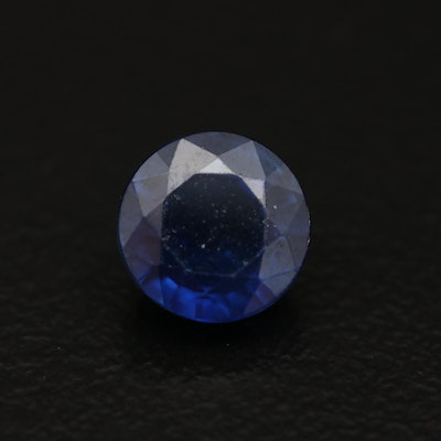 Loose 1.89 CT Round Faceted Sapphire