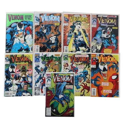"Complete ""Venom: Funeral Pyre"" and Other Venom Marvel Comics"