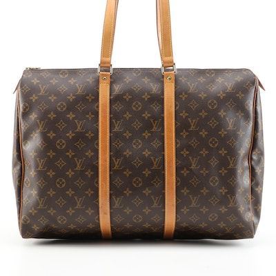 Louis Vuitton Sac Flaneire in Monogram Canvas and Vachetta Leather