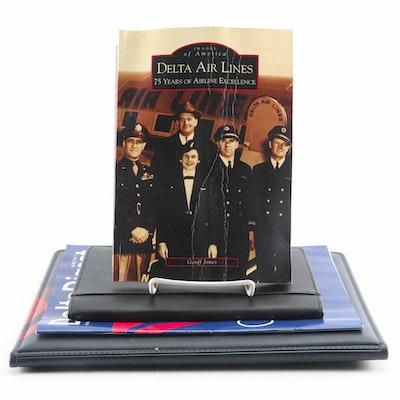 """Delta Air Lines Memorabilia Including """"Delta Digest"""" and More"""