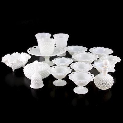 Milk Glass Table Accessories