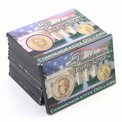 Twelve Presidential Dollar Series Commemorative Coin Sets
