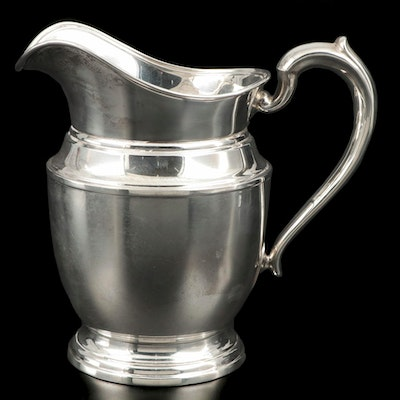 Meriden Britannia Co. Sterling Silver Pitcher, Late 19th/Early 20th Century