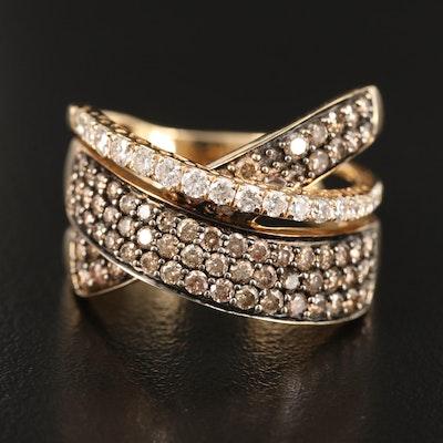 Le Vian 14K Diamond Criss-Cross Ring