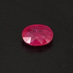 Loose 2.00 CT Oval Faceted Ruby with GIA Report