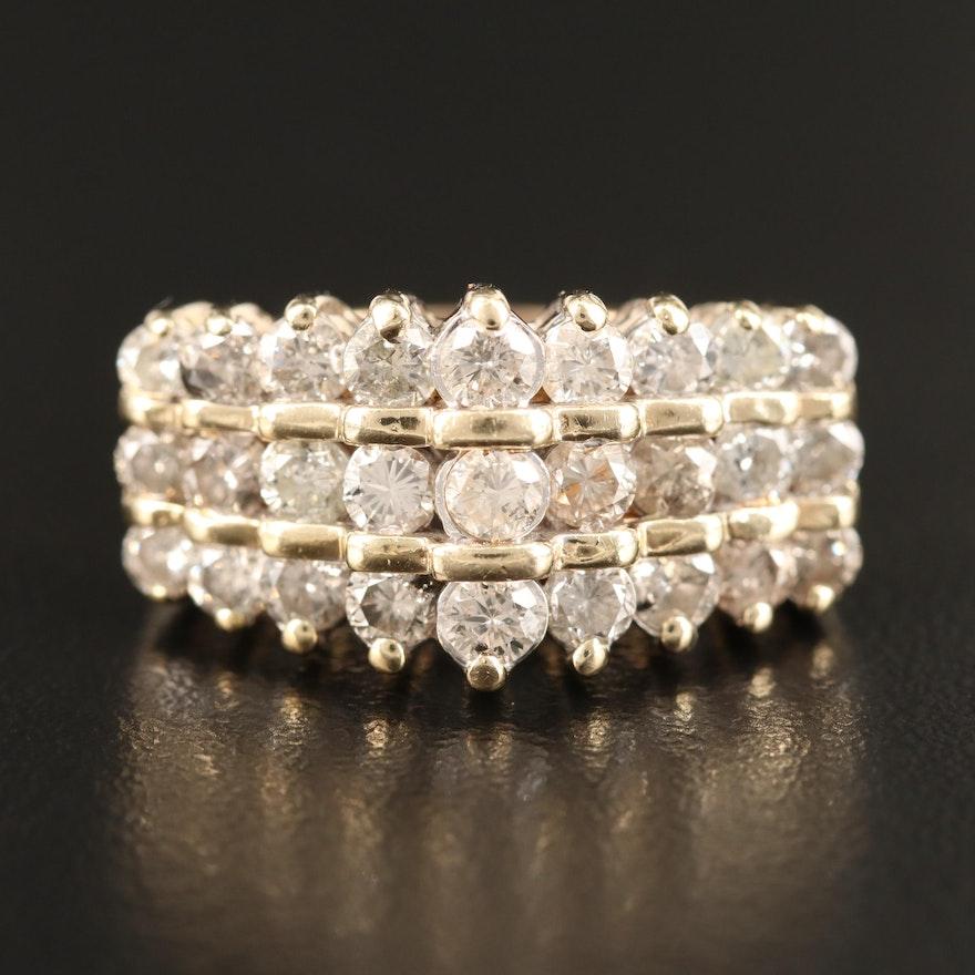 14K 1.85 CTW Diamond Ring