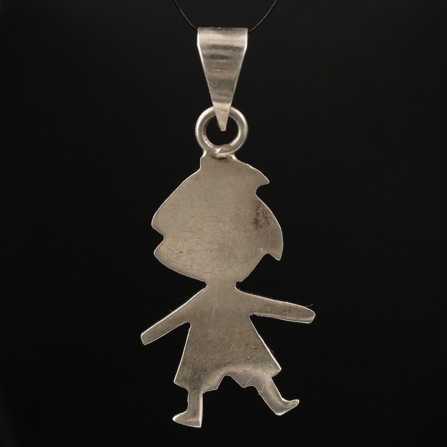 Mexican Sterling Figural Pendant