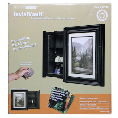 """Secure Logic """"InvisiVault"""" Wall Vault with Remote Control"""