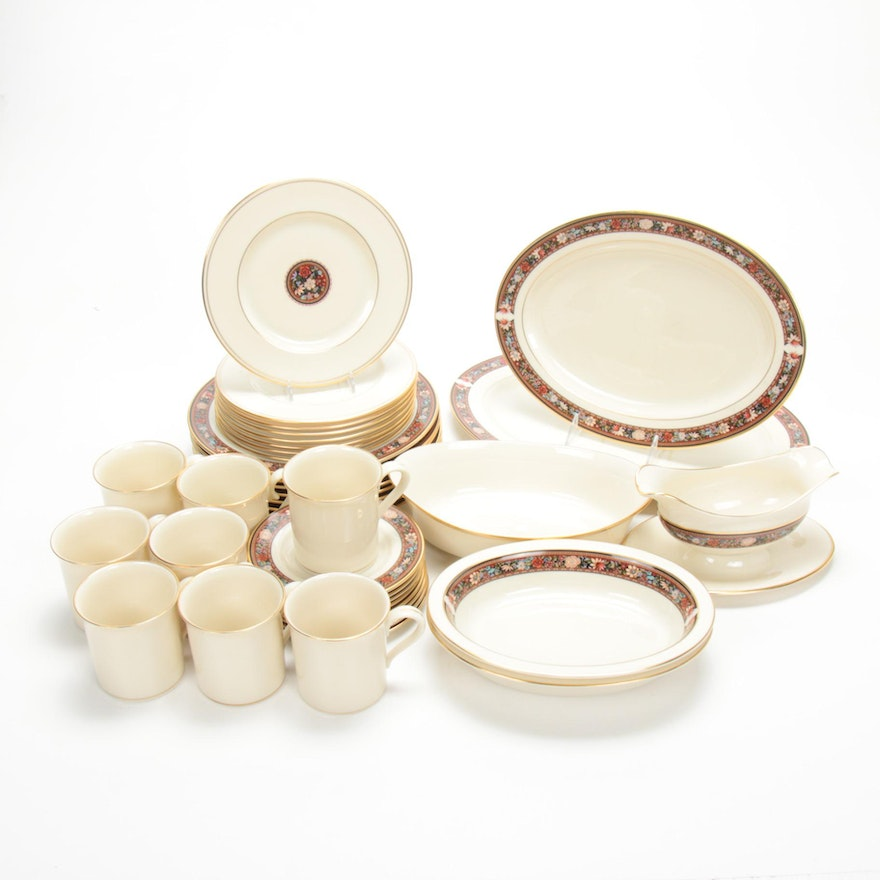 "Lenox ""Eternal"" and ""Witherspoon"" Porcelain Tableware"