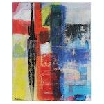 MahLeah Cochran Abstract Acrylic Painting