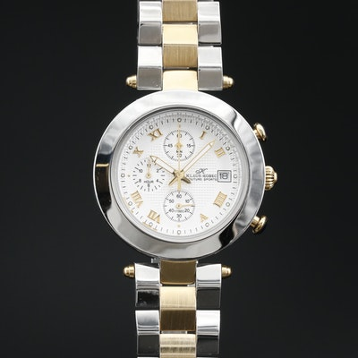 Klaus - Kobec Chronograph with Date Stainless Steel Quartz Wristwatch