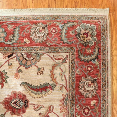 """5'9.5 x 9'4 Power-Loomed Karastan """"Ashara"""" Agra Wool Rug"""