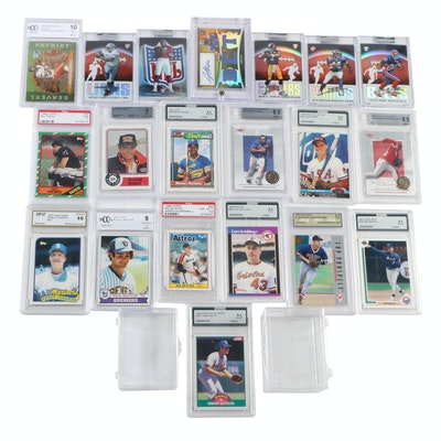 Professionally Graded Cards Including Randy Johnson, Nomar Garciaparra and More