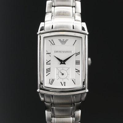 Emporio Armani Stainless Steel Quartz Wristwatch