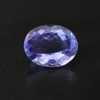 Loose Oval Faceted 2.24 CT Tanzanite