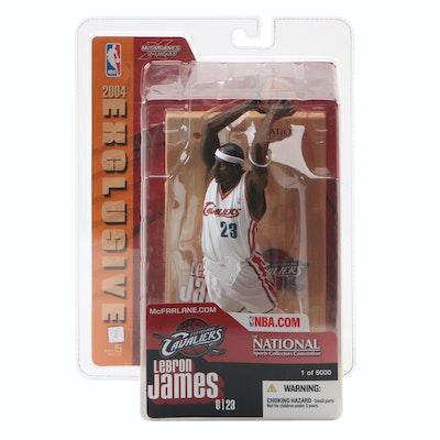 2004 LeBron James Cleveland Cavaliers McFarlane Action Figure Series 7