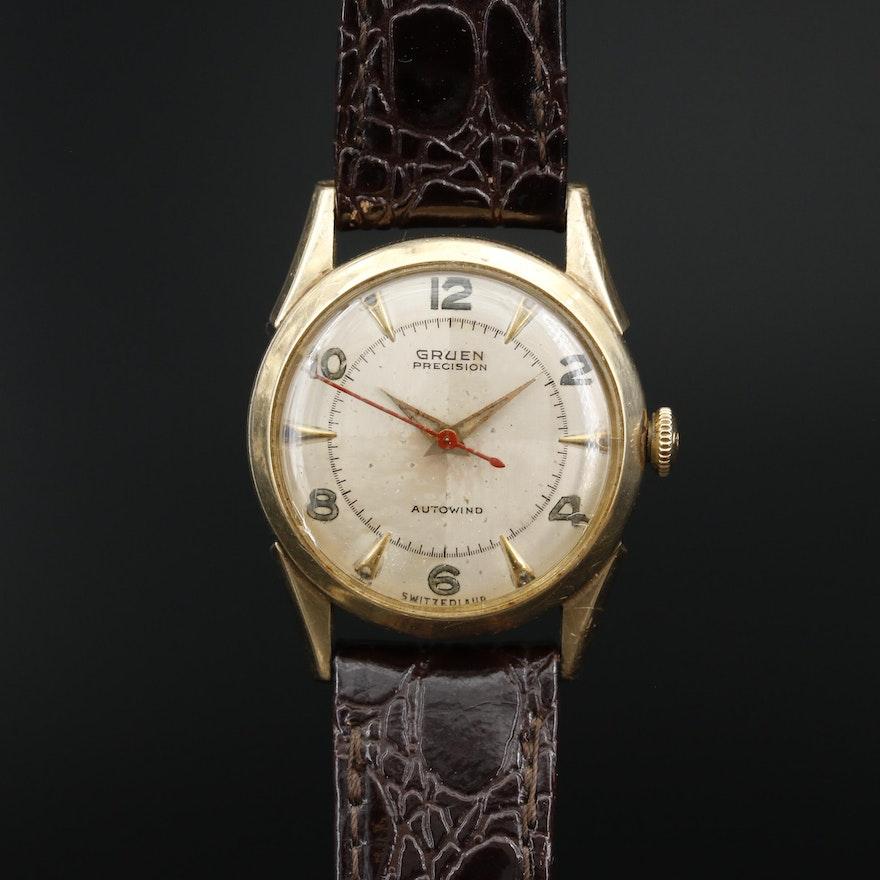 Gruen Precision Autowind Gold Filled Wristwatch
