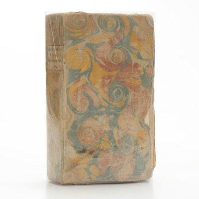 """""""Bibliothèque physico-économique, instructive et amusante"""" Book, 1785"""