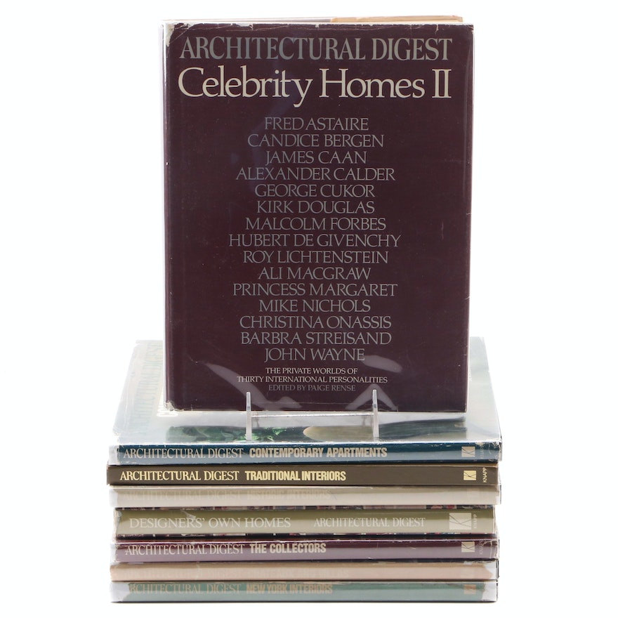 """First Editions """"The Worlds of Architectural Digest,"""" 1979–1984"""