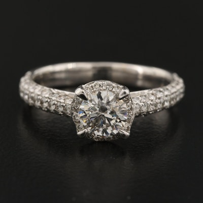 14K 1.49 CTW Diamond Ring