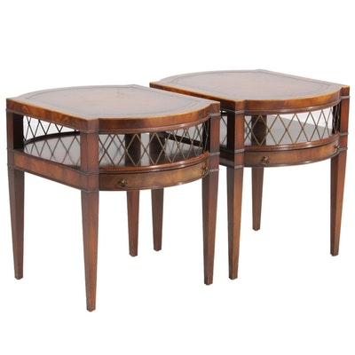 Pair of Weiman Furniture Side Tables, Mid-20th Century
