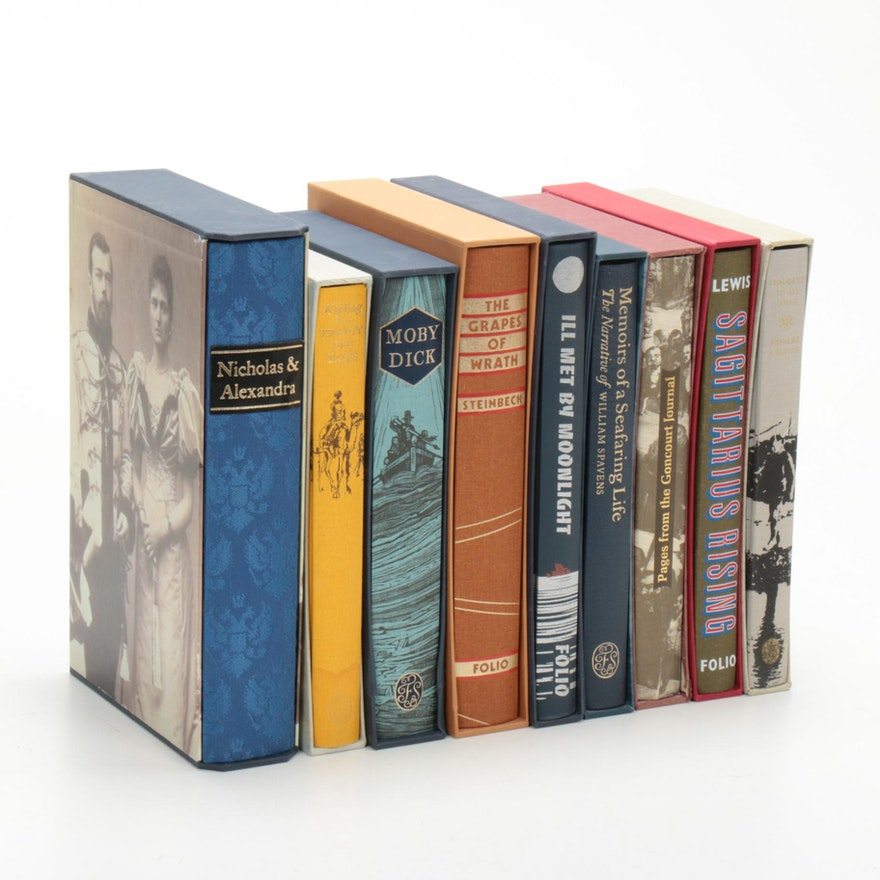 """Moby Dick,"" ""The Grapes of Wrath,"" and Other Folio Society Books"