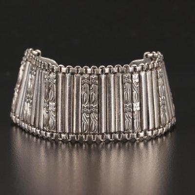 1930s 800 Silver Bracelet