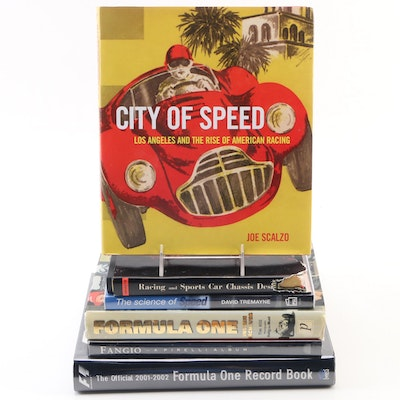 "First Edition ""City of Speed: Los Angeles and Rise of American Racing"" with More"