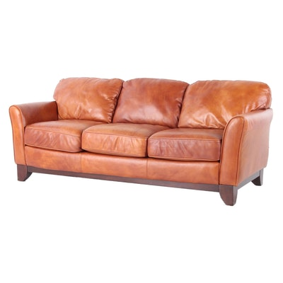 FrontRoom Furnishings Leather Sofa