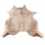 6'0 x6'7 Natural Cow Hide Area Rug