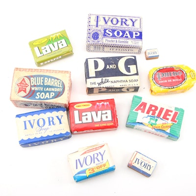 """Procter & Gamble Soap Bars in Original Packaging Including """"Ivory,"""" """"Lava,"""" More"""