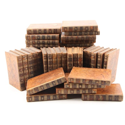 """Complete Set """"The British Essayists"""" by Alexander Chalmers, 1803"""