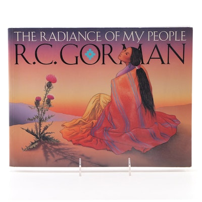 "Signed First Edition ""The Radiance of My People"" by R. C. Gorman, 1992"