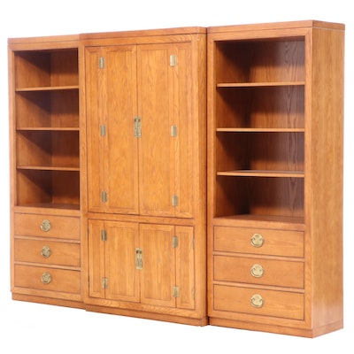 """Century """"Sobota Collection"""" Asian Inspired Display Cabinet and Bookcases"""